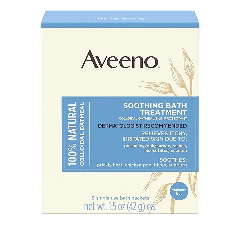 Hỗn hợp ngâm tắm - Aveeno Soothing Bath Treatment