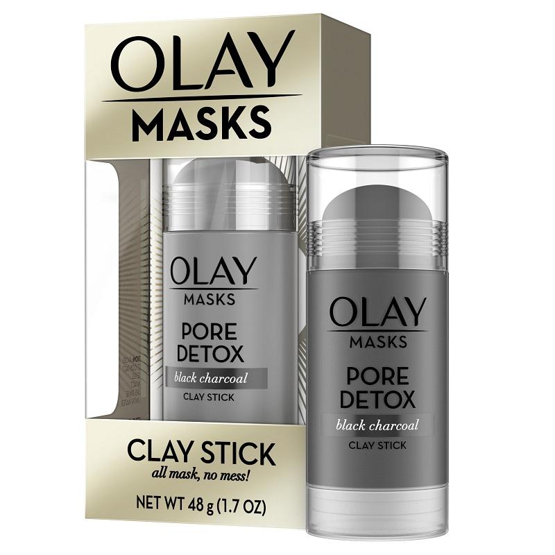 Mặt nạ Olay Pore Detox Black Charcoal Clay Stick