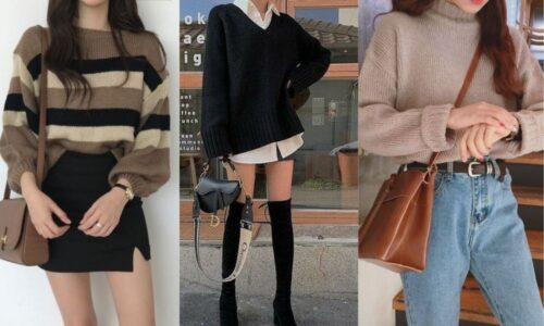 5 Xu hướng thời trang áo len nữ phù hợp mọi phong cách