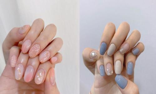 4 kiểu nail kim tuyến cho đôi bàn tay thêm lung linh