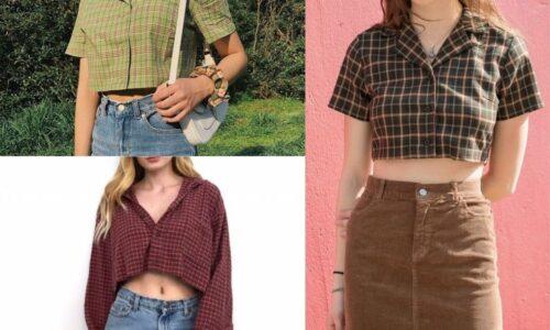 5 cách phối đồ với áo sơ mi croptop tự tin khi xuống phố