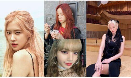 5 màu tóc hot và thời thượng nhóm nhạc blackpink