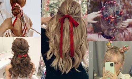 6 ý tưởng kiểu tóc cho đêm giáng sinh