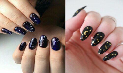 24 kiểu nail galaxy cho nàng thêm nổi bật