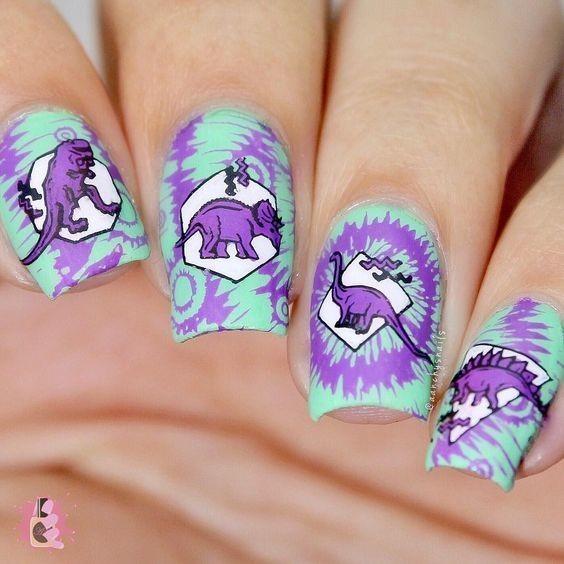 Nail khủng long 5