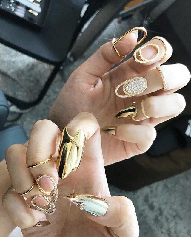 nail phong cách blackpink _23