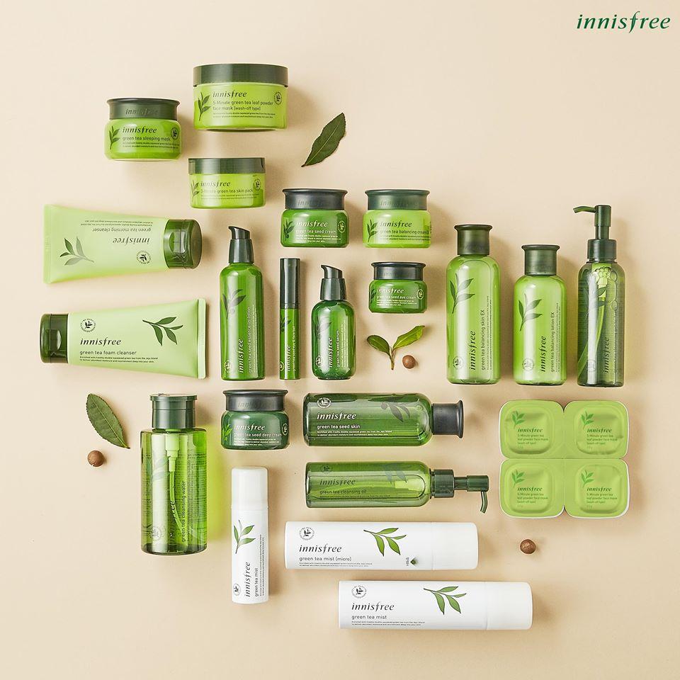 Các sản phẩm nổi bật của Innisfree