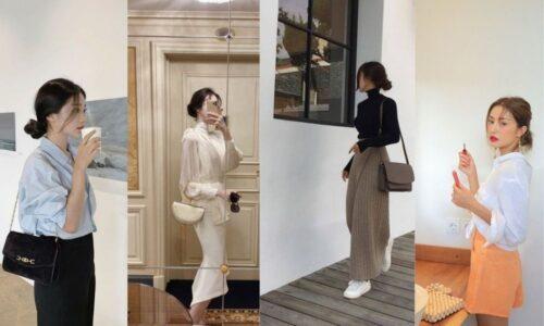 13 cách phối đồ với kiểu tóc búi thấp Hàn Quốc