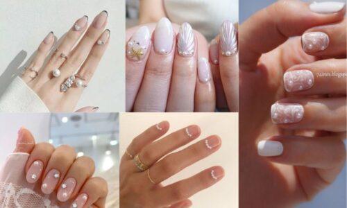 5 ý tưởng nail ngọc trai với tông màu nhẹ nhàng