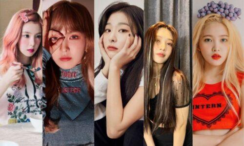 Màu tóc thời thượng của những cô nàng Red Velvet