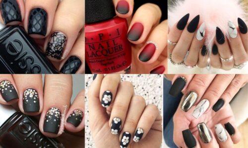 6 ý tưởng nail với màu sơn đen huyền bí và sang trọng