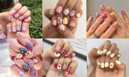 5 mẫu nail hoa đơn giản đẹp hút hồn