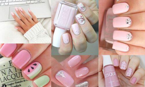 5 ý tưởng nail màu hồng xinh xắn cho cô nàng ngọt ngào