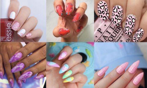 7 ý tưởng mẫu nail tay ngọt ngào và quyến rũ
