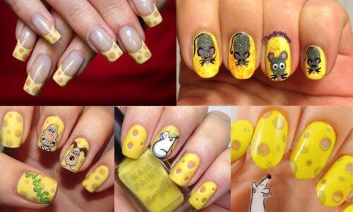 4 ý tưởng nail mới lạ với phô mai rất đáng yêu