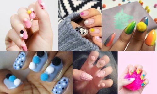 7 ý tưởng nail cục bông cực dễ thương