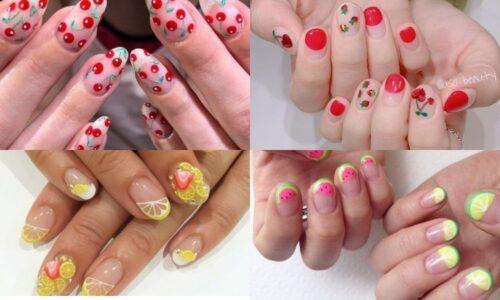 6 kiểu nail họa tiết trái cây đáng yêu cho mùa hè