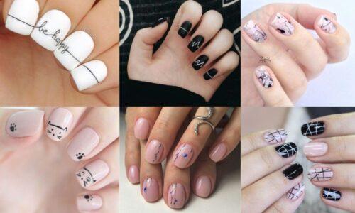 6 kiểu nail vẽ đơn giản giúp bộ móng xinh lung linh