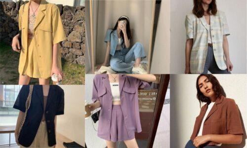 """Ý tưởng phối áo """"Blazer dáng ngắn"""" theo phong cách đơn giản và sang trọng"""