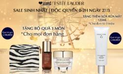 Bão sale Estée lauder: Tặng kem dưỡng trắng da Supreme Bright 7ml cho mọi đơn hàng Siêu Sale Sinh Nhật Lazada