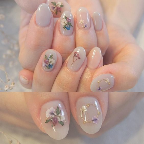 Gel hoa khô