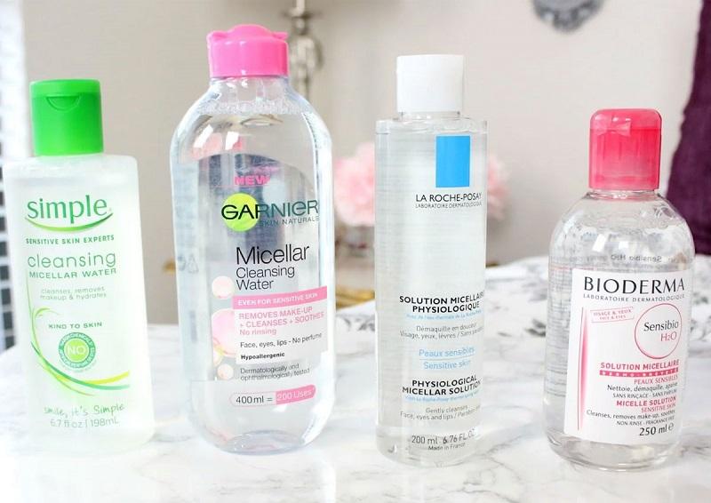 Cách chọn nước tẩy trang cho da nhạy cảm
