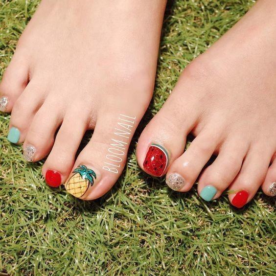 nail chân _10