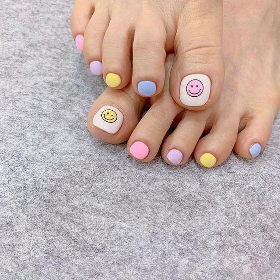 nail chân _9