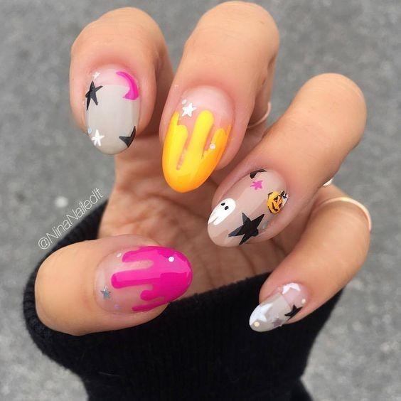 nail hallowen_14