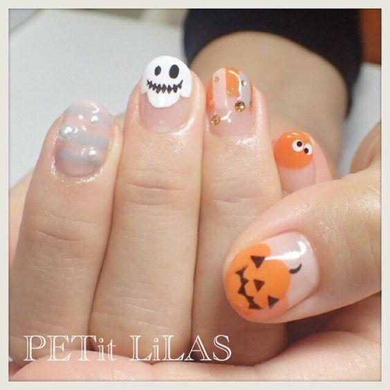 nail hallowen_16