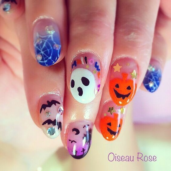nail hallowen_18