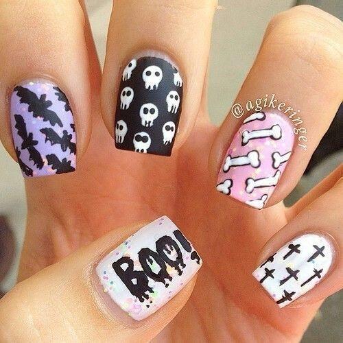 nail hallowen_27