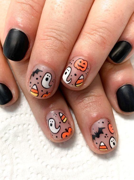 nail hallowen_6