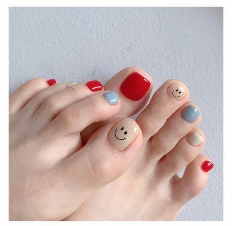 Nail móng chân dễ thương 2