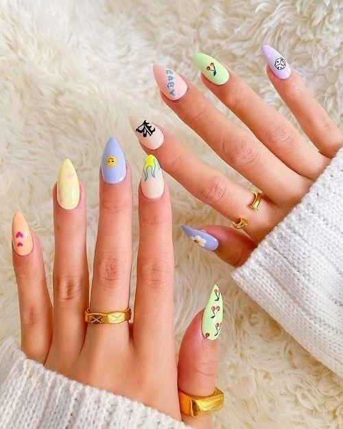 nail sáng tạo