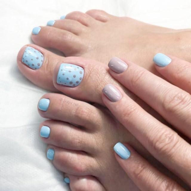 Nail tay chân 4