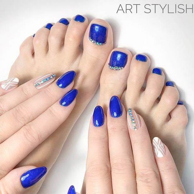 Nail tay chân 5