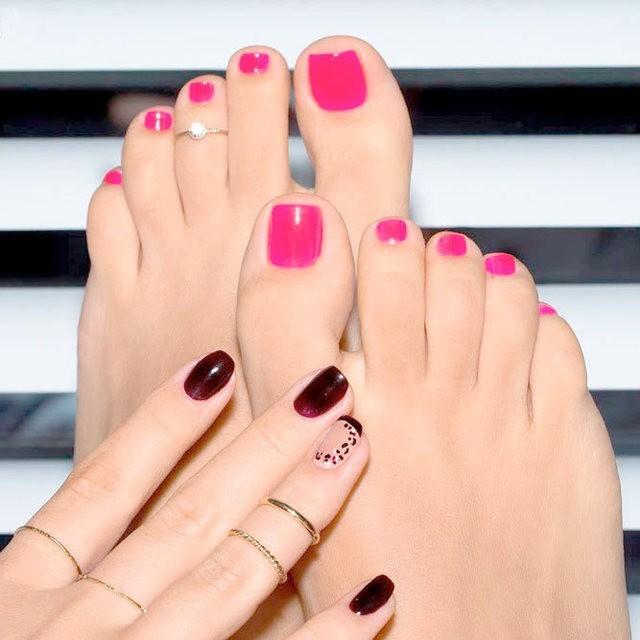 Nail tay chân 8