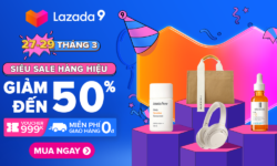 Lazada siêu sale hàng hiệu – LAZADA BIRTHDAY 9