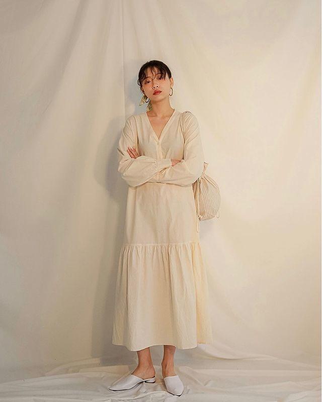 trang phục màu be_4