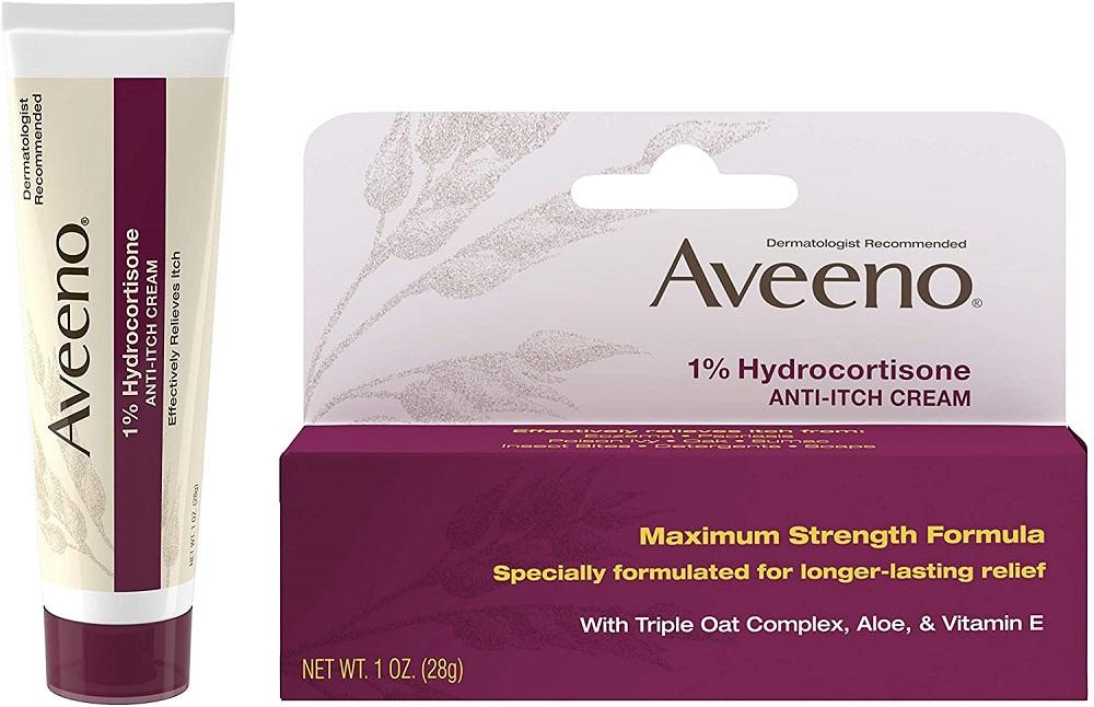 Aveeno Active Naturals 1% Hydrocortisone Anti-Itch Cream