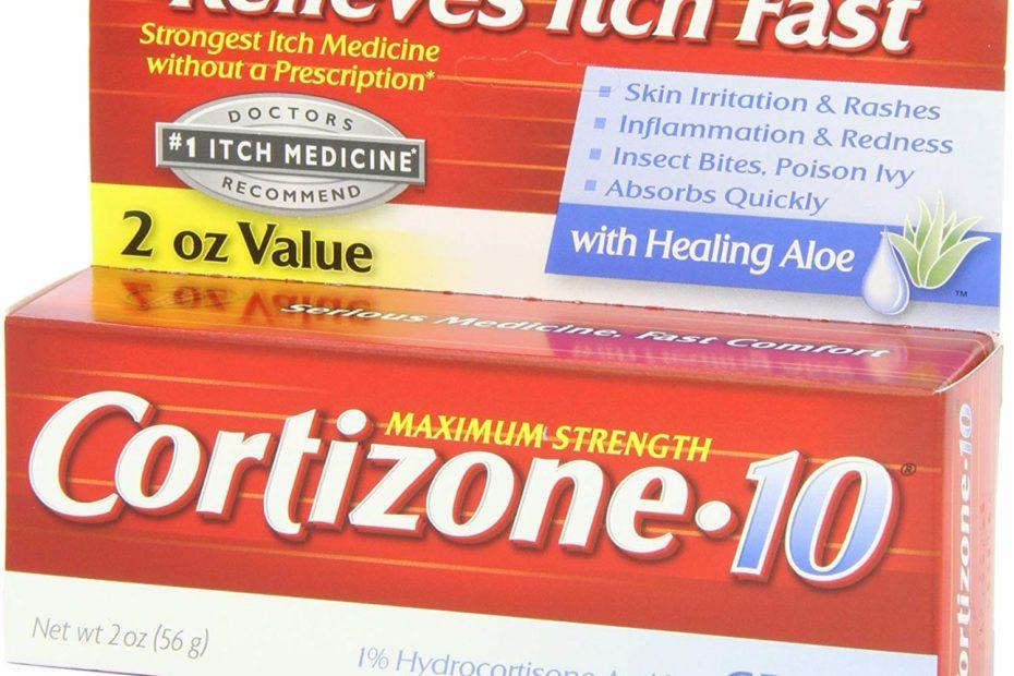 Cortizone Cortizone-10 Maximum Strength Hydrocortisone Anti-Itch Cream