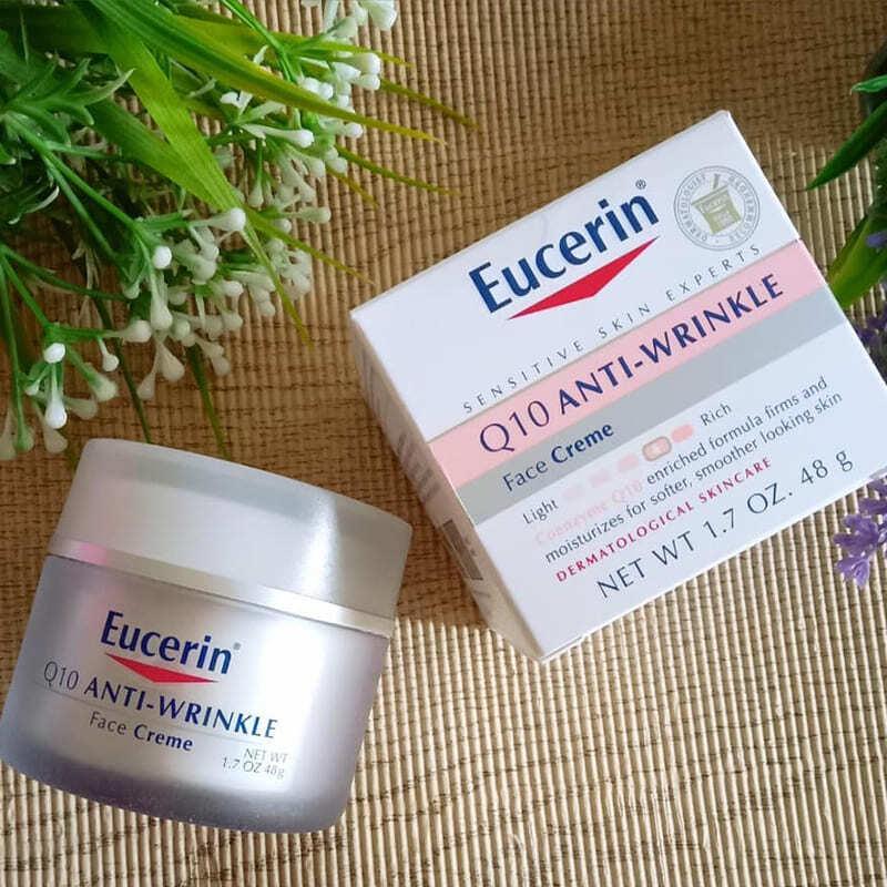 Eucerin Sensitive Skin Experts Q10 Anti-Wrinkle Face Creme $12