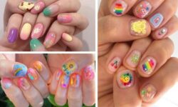 6 kiểu nail màu sắc rực rỡ cho hè thêm nổi bật