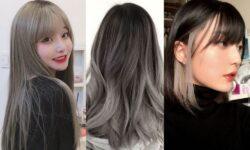 Top 5 màu tóc xám khói cho cô nàng cá tính