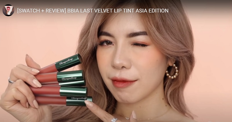 Chang Makeup swatch son Bbia