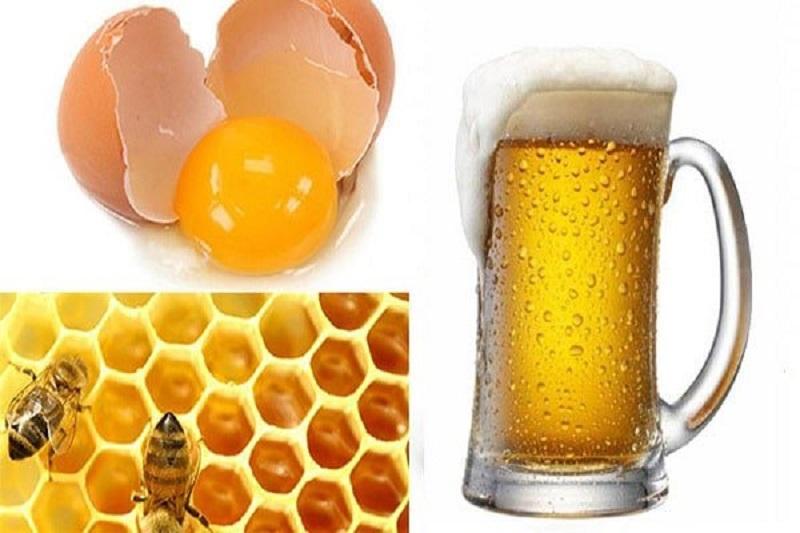 Tắm trắng bằng bia, sữa tươi, mật ong và trứng gà
