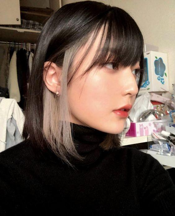 tóc màu xám khói_18