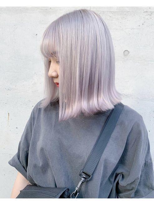 tóc màu xám khói_3