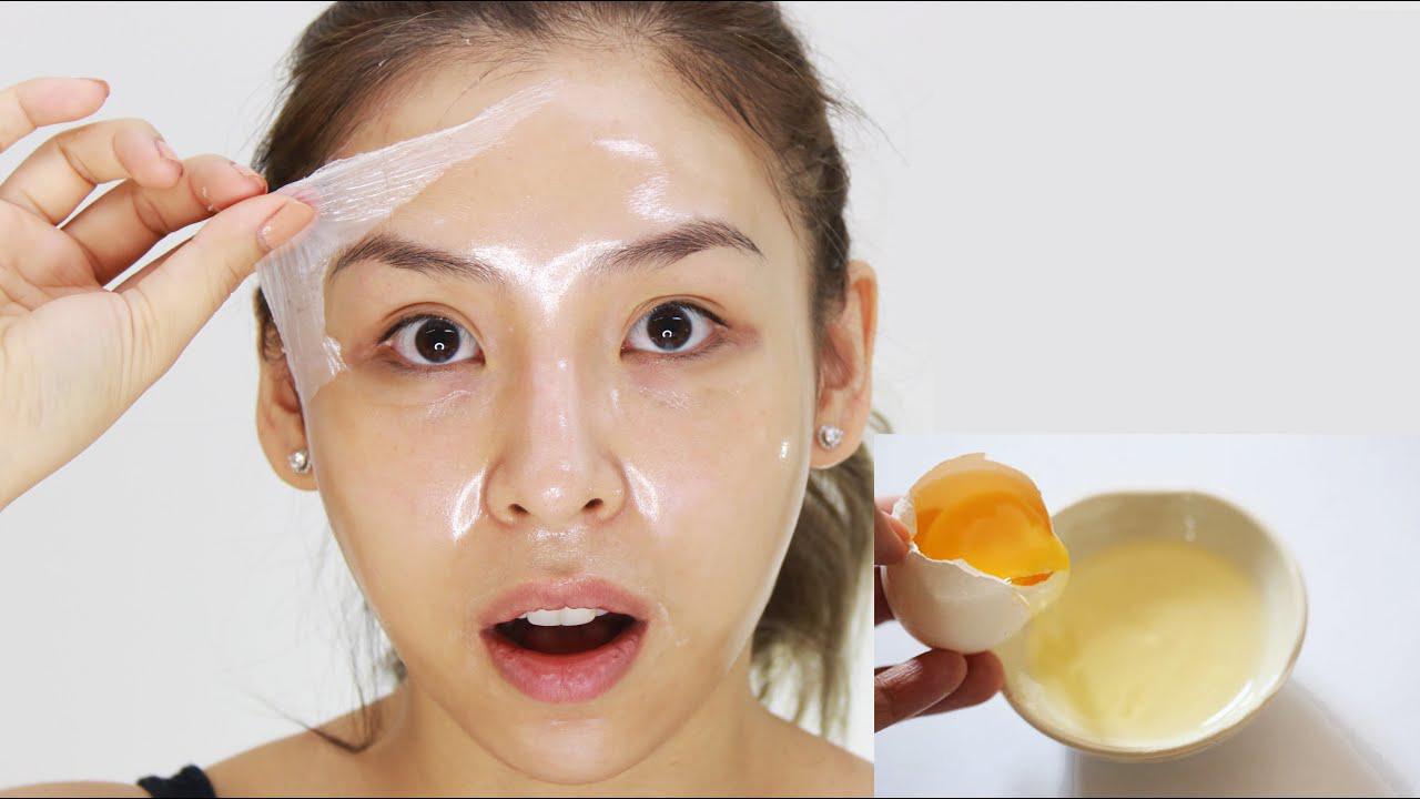 Tự làm da mặt căng mịn tại nhà bằng trứng gà